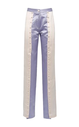 Medium giuseppe di morabito multi bicolored buttoned trousers