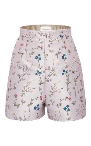 Medium giuseppe di morabito pink floral jacquard shorts