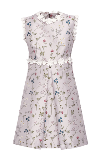Medium giuseppe di morabito pink floral jacquard dress