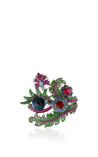 Medium lydia courteille multi floral ring