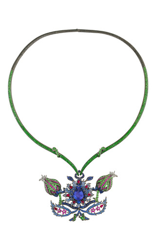 Medium lydia courteille multi floral necklace