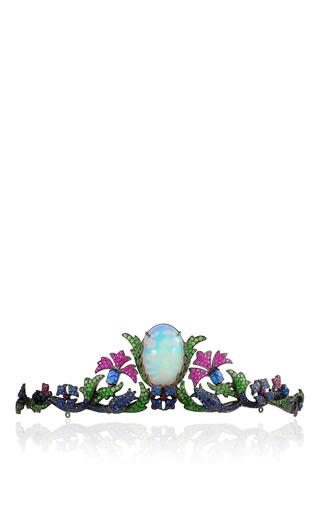 Medium lydia courteille multi opal tiara