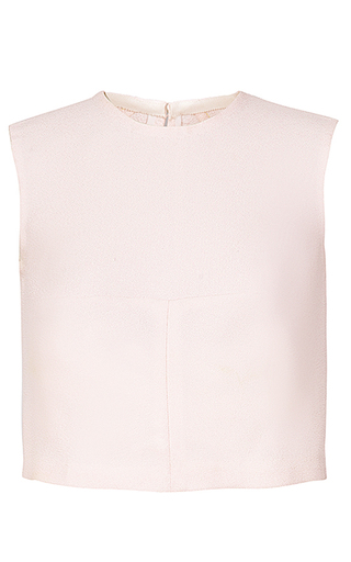 Medium esme vie pink shent cropped sleeveless top