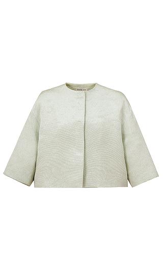 Medium esme vie green luster short sleeve jacket