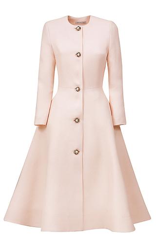 Medium esme vie pink flower pearl coat