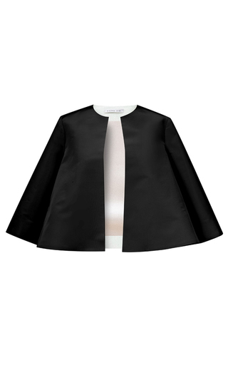 Medium esme vie black nuvola three quarter sleeve jacket