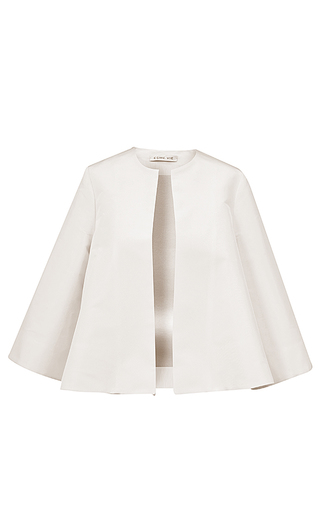 Medium esme vie white nuvola three quarter sleeve jacket 2