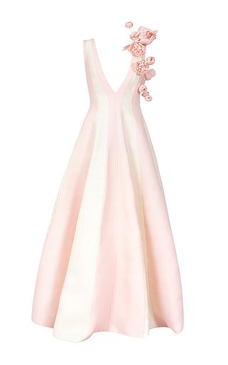Medium esme vie pink peony zebrine gown