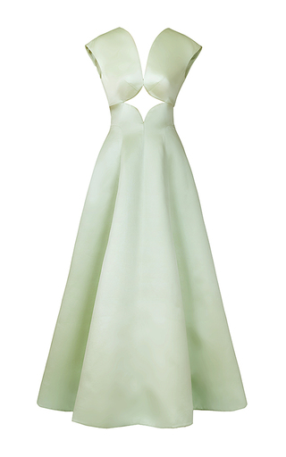 Medium esme vie green bliss cut out gown