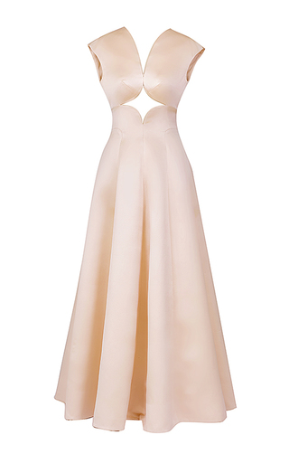 Medium esme vie pink bliss cut out gown 2