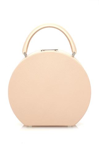 Medium bu wood ivory bumi18 leather top handle bag
