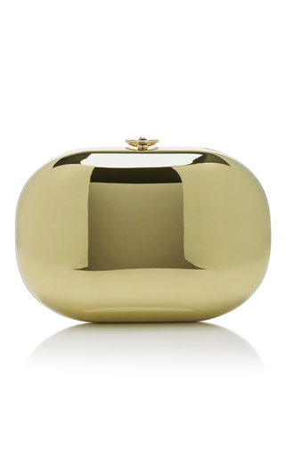 Medium jeffrey levinson gold 14k gold clutch