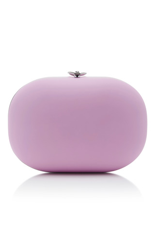Medium jeffrey levinson pink pink stone clutch