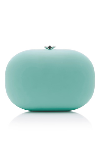 Medium jeffrey levinson blue robin s egg blue stone clutch