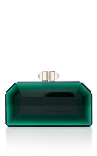 Medium judith leiber green judith leiber couture green faceted clutch