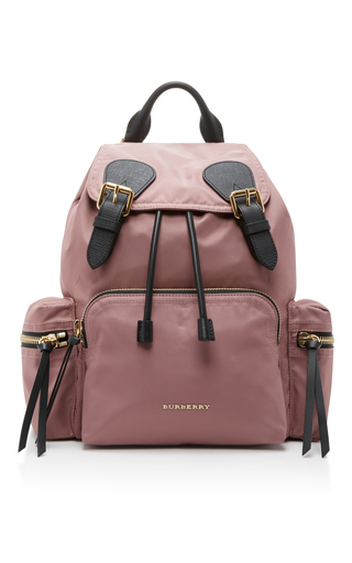 Medium burberry pink utility backpack 3