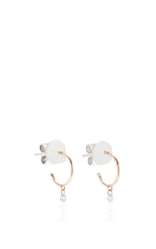 Medium as29 pink mykonos small hoop earrings in rose