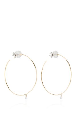 Medium as29 gold mykonos big hoop earrings in gold