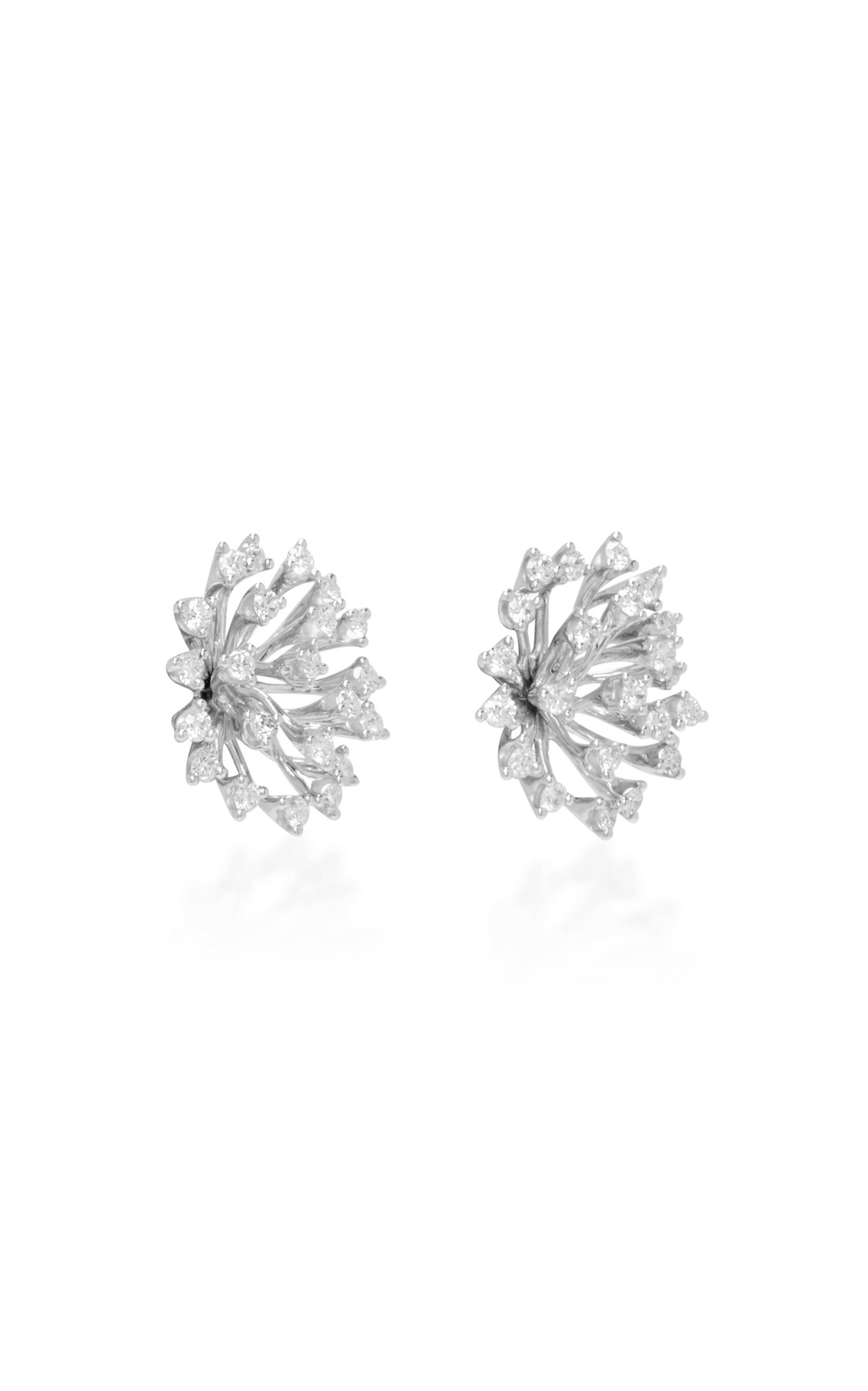 Luminus White Diamond Stud Earrings Hueb fVBGp2