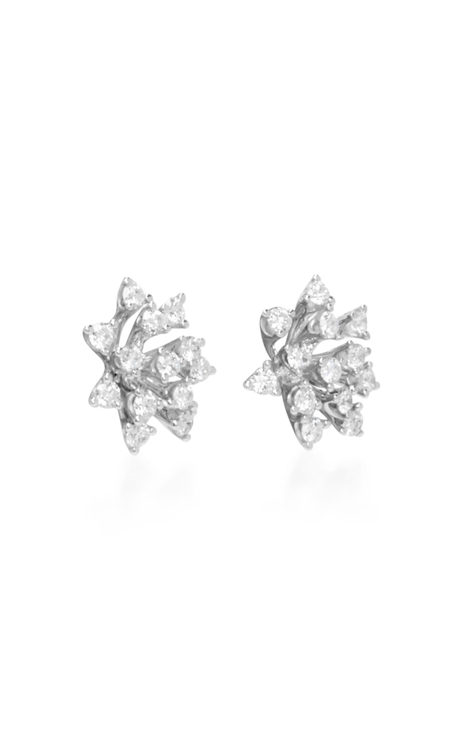 Luminus White Diamond Stud Earrings Hueb nAWvM0a5tr