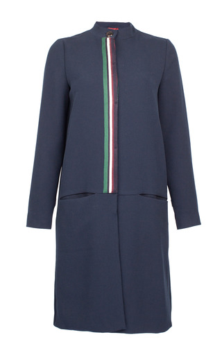 Medium baum und pferdgarten navy daya cardigan coat