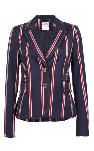 Medium baum und pferdgarten navy bethia striped blazer