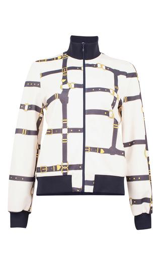Medium baum und pferdgarten white jamina bomber jacket