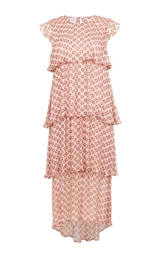Medium baum und pferdgarten print alia tiered ruffle dress