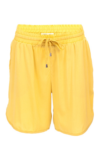 Medium baum und pferdgarten yellow nedia drawstring shorts