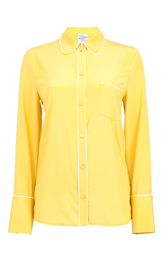 Medium baum und pferdgarten yellow mangena collared shirt