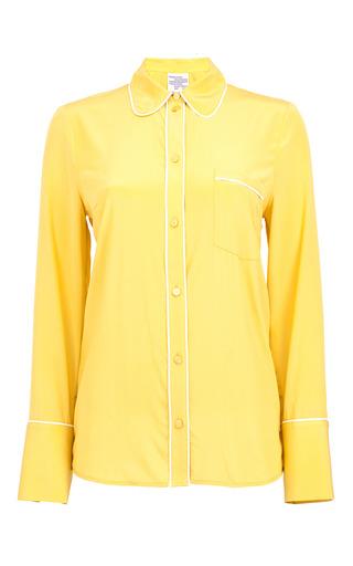 Medium baum und pferdgarten yellow mangena collared shirt