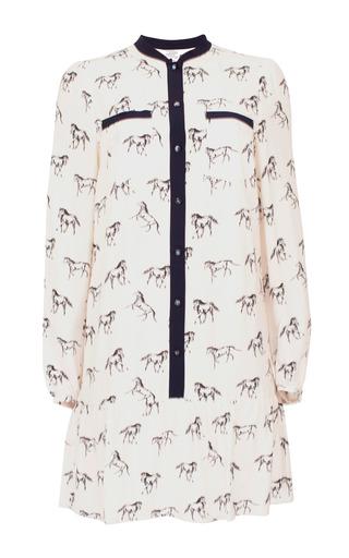 Medium baum und pferdgarten print adine mini shirt dress