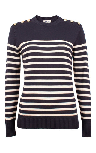 Medium baum und pferdgarten stripe clarice striped sweater