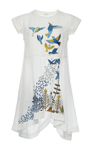 Medium rahul mishra white hand embroidered dress