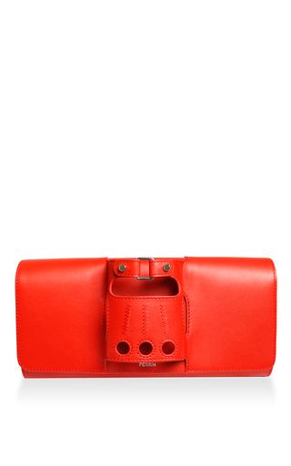 Medium perrin red le cabriolet clutch 2