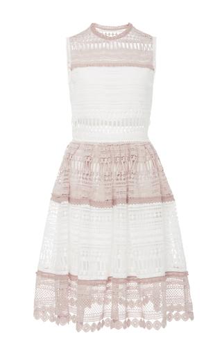 Medium alexis white melania cutout dress