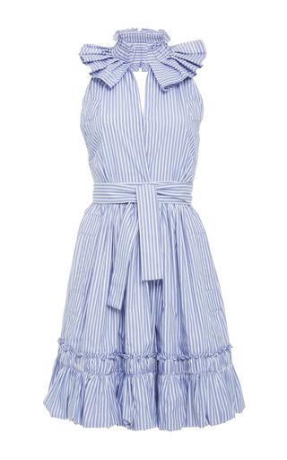 Medium alexis stripe briley ruffle mini dress