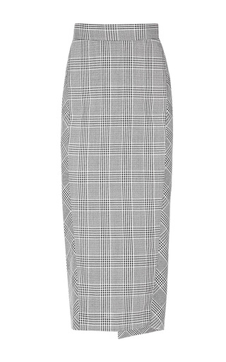 Medium lake studio grey high waisted midi skirt