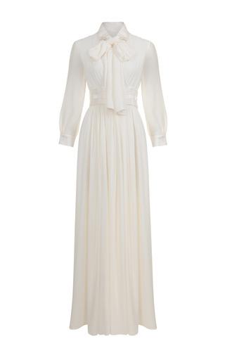 Medium jessica choay white wanderer bow dress