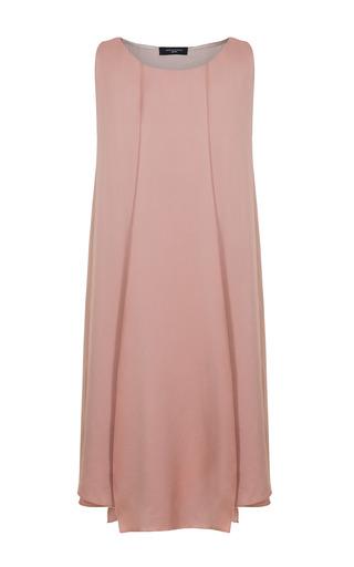 Medium jessica choay neutral milonga satin mini dress