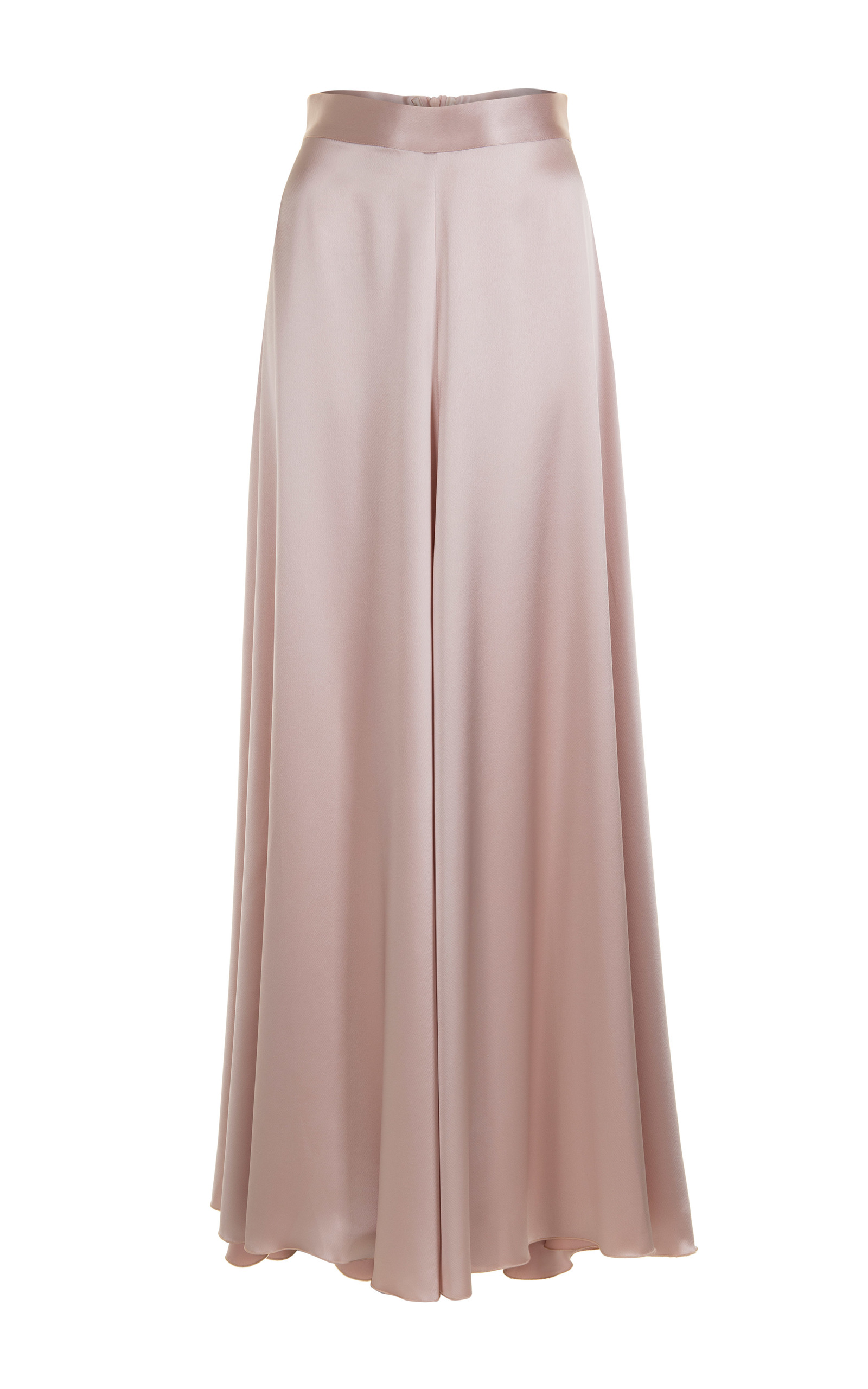 6c43bf6fc868 Loose Satin Maxi Skirt by Jessica Choay | Moda Operandi