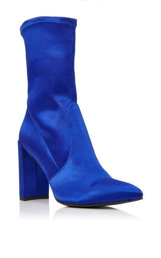 Medium stuart weitzman  2 blue clinger boots