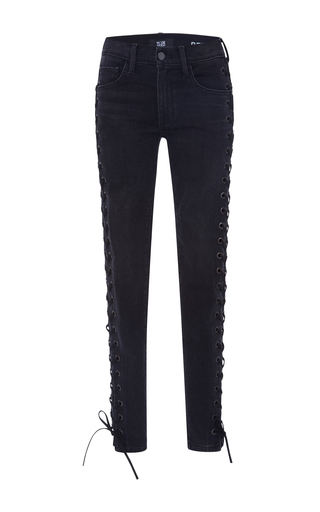 Medium made gold black betty mob wash lace up jeans