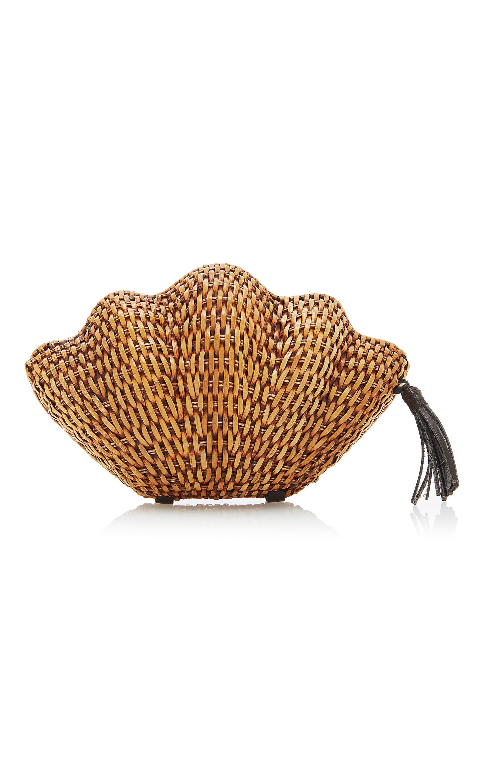 Cheap Sale Excellent Outlet Wide Range Of Jane Clam Wicker Clutch Kayu The Cheapest Sale Online Buy Cheap Latest Collections For Sale Cheap Online G7aQDeX