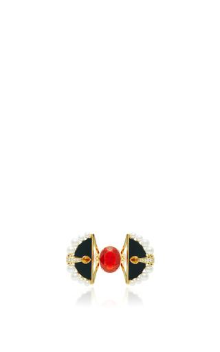 Medium lalique red the firebird ring