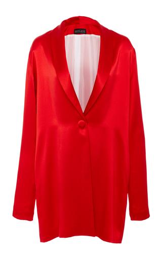 Medium breelayne red siouxsie sporty luxe boyfriend blazer