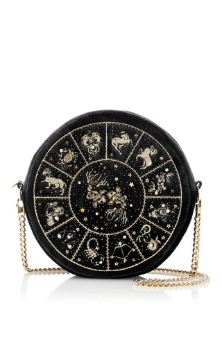 Medium preciously paris black pisces clutch