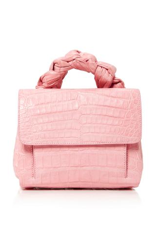 Medium nancy gonzalez pink crocodile tote