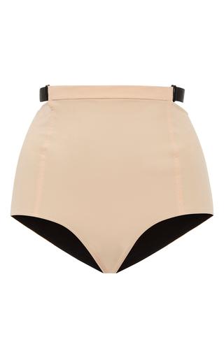 Medium jean yu neutral multi strap high rise bikini bottom