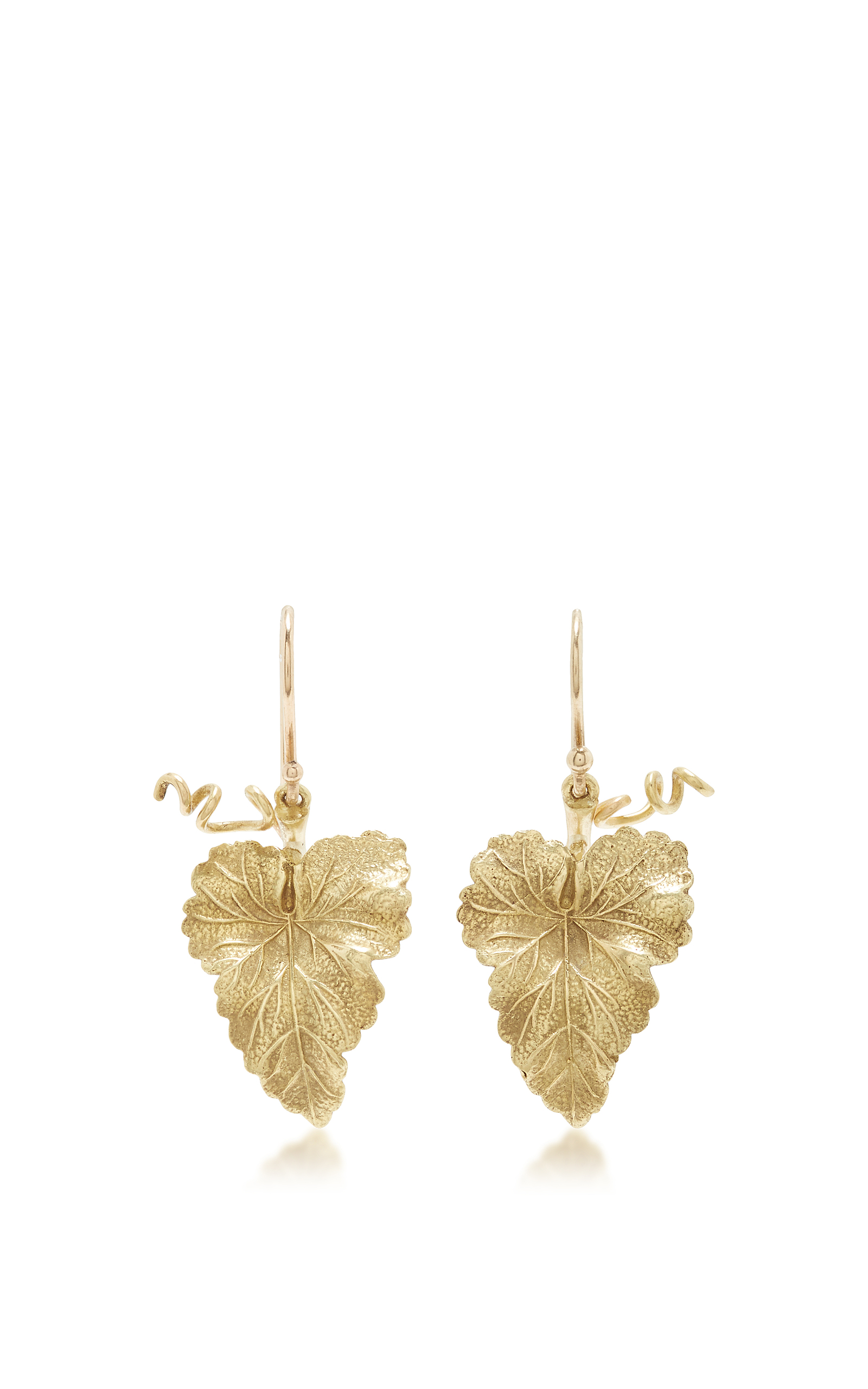 operandi ferdinandsen moda large daily annette gold grape hanging earrings wear leaf by loading